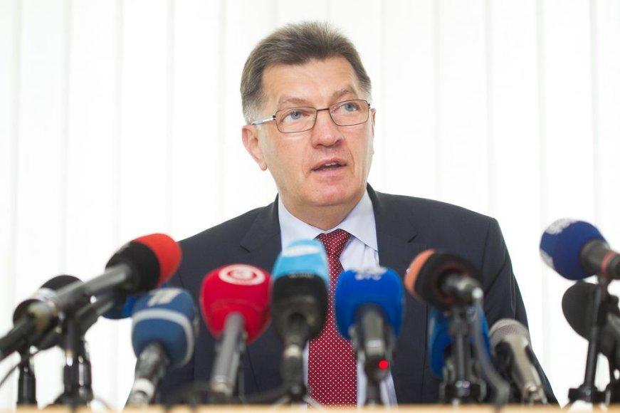 Algirdo Butkevičiaus spaudos konferencija