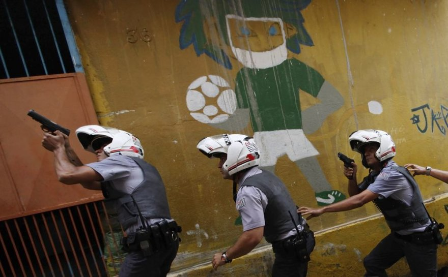 Brazilijos policininkai