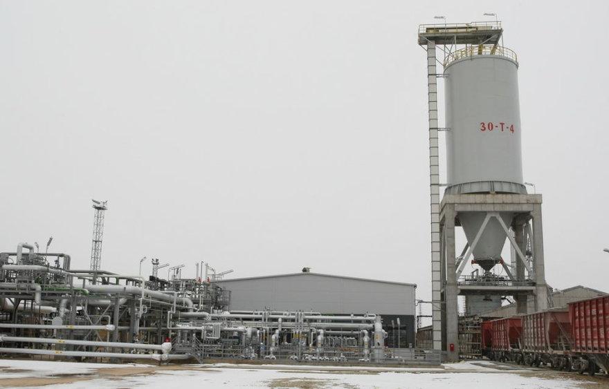 """""""ORLEN Lietuva"""" gamykloje atidarytas šiuolaikinis sieros gamybos įrenginys"""
