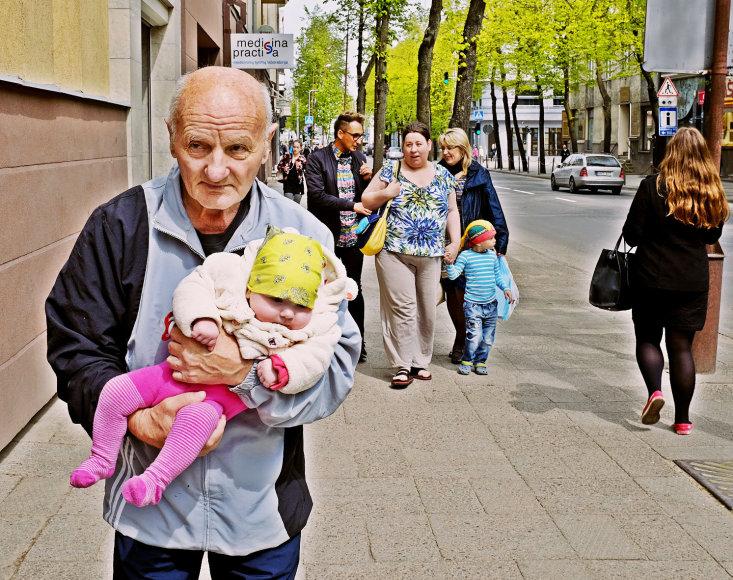 Vidas Antonovas su dukra Dominyka Europa