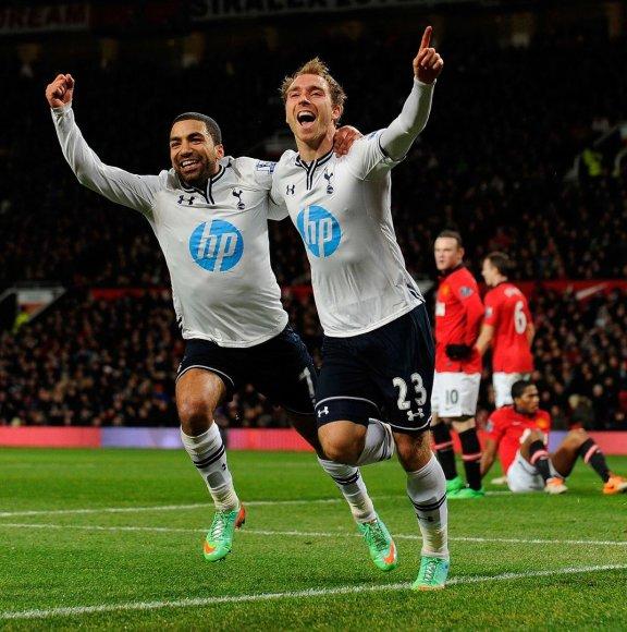 """Tottenham Hotspur"" įveikė ""Manchester United"""