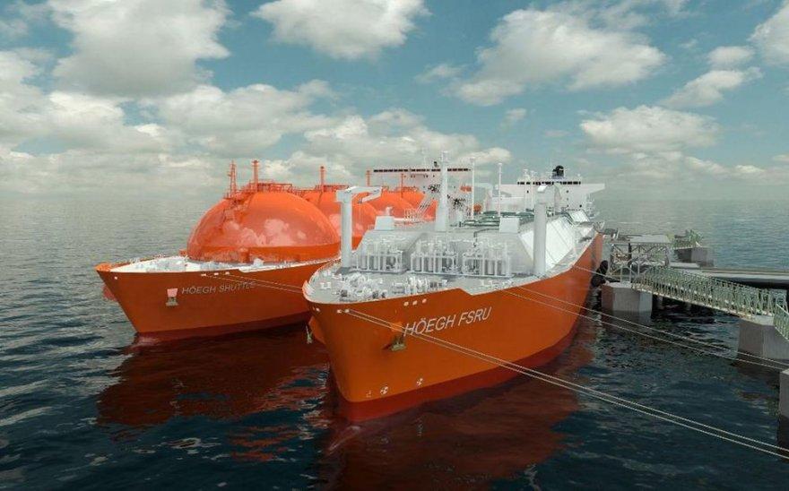 """Suskystintų gamtinių dujų terminalas – brangus ginklas prieš """"Gazprom"""" monopoliją."""