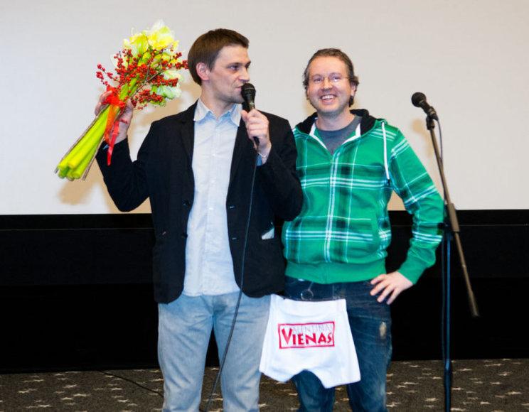 Donatas Ulvydas ir Žilvinas Naujokas