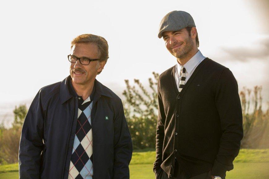 """Christophas Waltzas ir Chrisas Pine'as komedijoje """"Kaip atsikratyti boso 2"""""""
