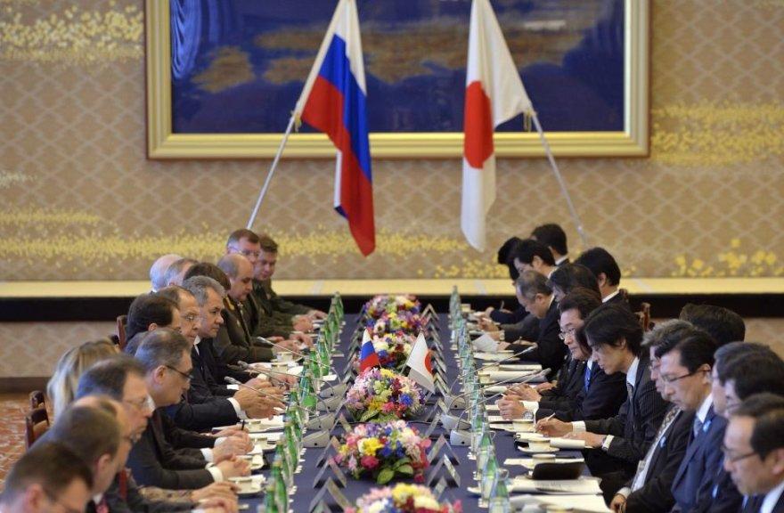 Japonijos ir Rusijos delegacijos