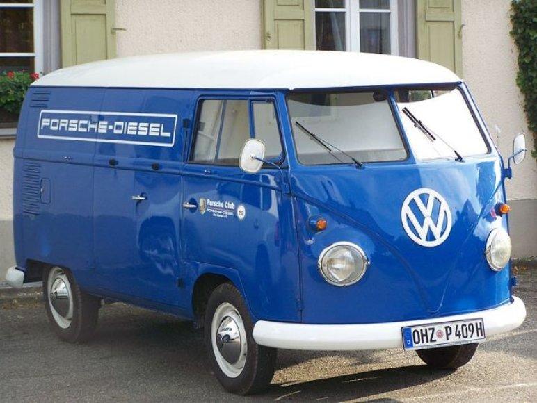 Volkswagen furgonas.