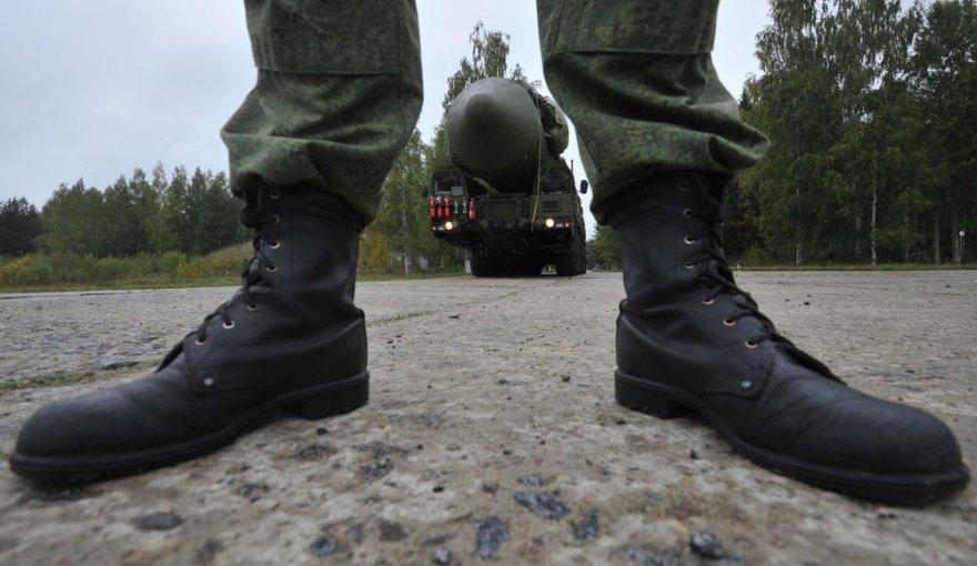 Rusija kuria naują tolimojo nuotolio balistinę raketą