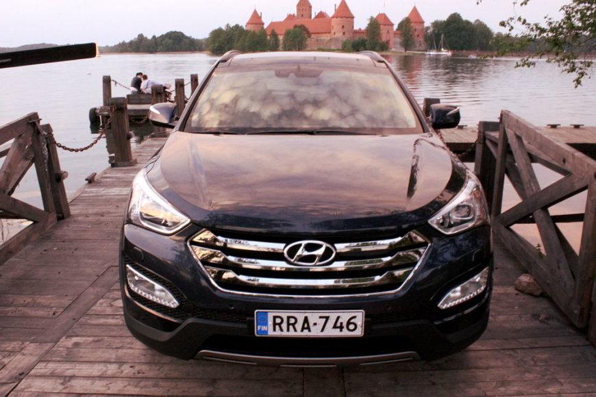 """Trečiosios kartos """"Hyundai Santa Fe"""""""