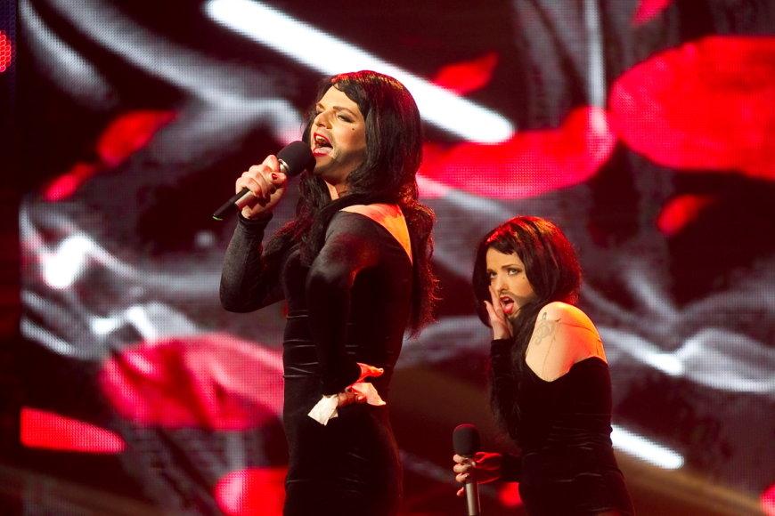 Andžela ir Ruslanas Kirilkinas