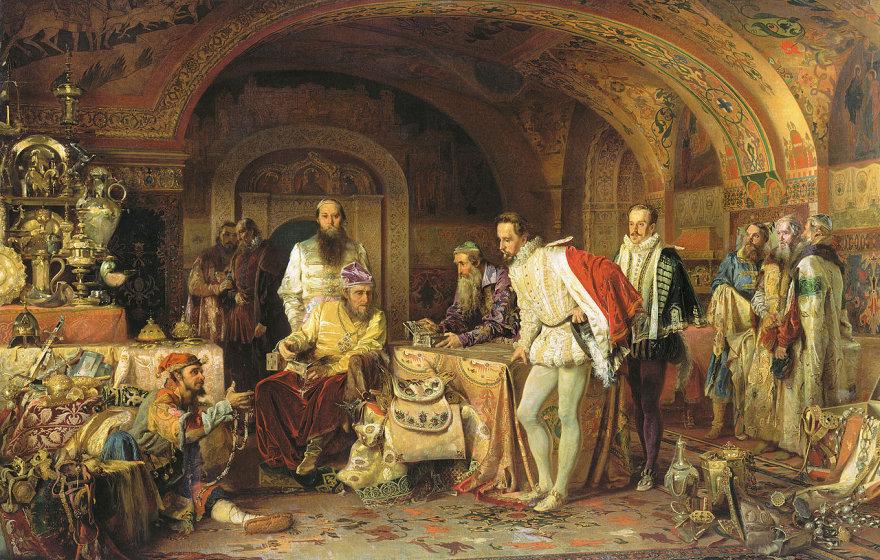 Į Kremlių pas Ivaną Žiaurųjį be dovanų buvo geriau nevykti