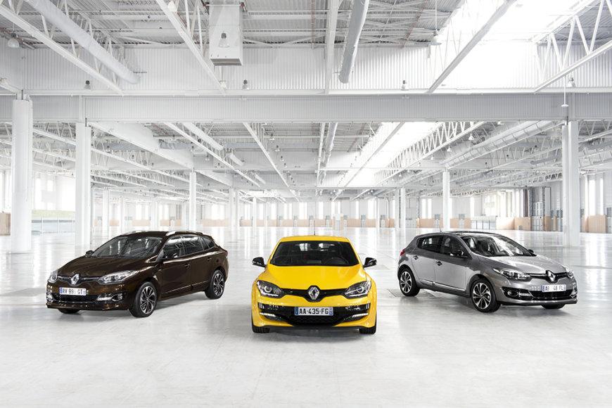 """Atnaujinta """"Renault Mégane"""" gama"""