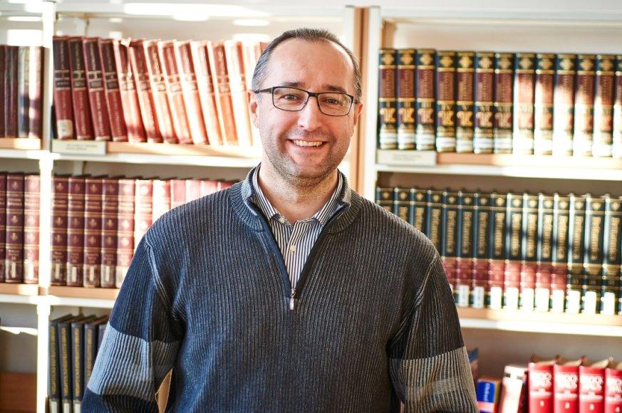 KTU dėstytojas Nerijus Čepulis