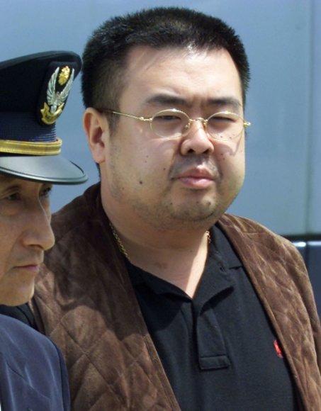 Kim Jong-Namas – Kim Jong Uno vyresnis brolis iš ankstesnės Kim Jong Ilo santuokos, kuris buvo nužudytas Malaizijoje