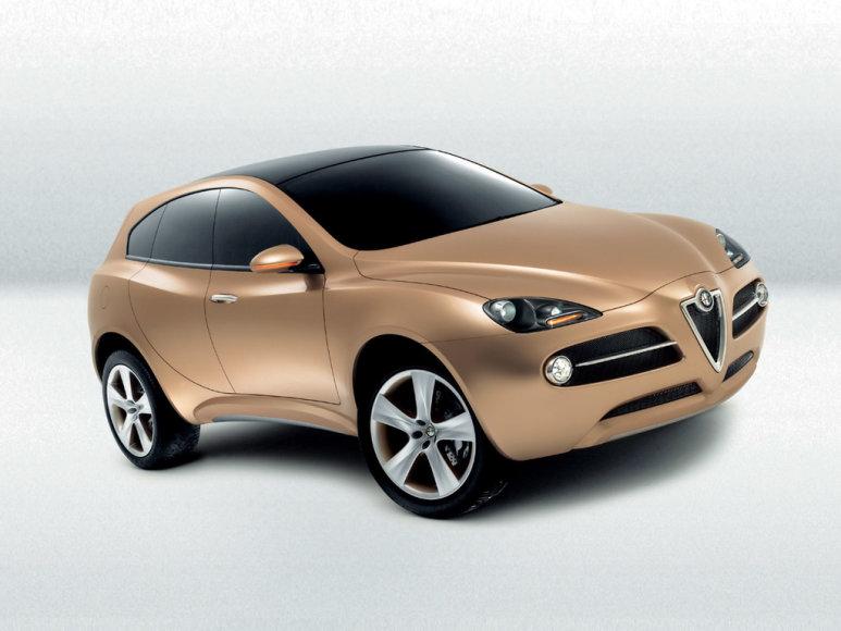 """""""Alfa Romeo"""" krosoverio konceptas"""