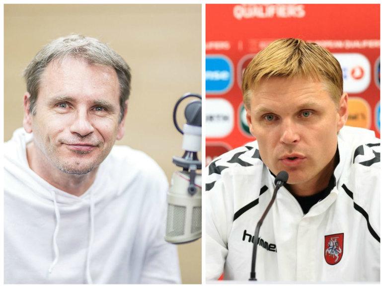 Marijonas Mikutavičius ir Edgaras Jankauskas