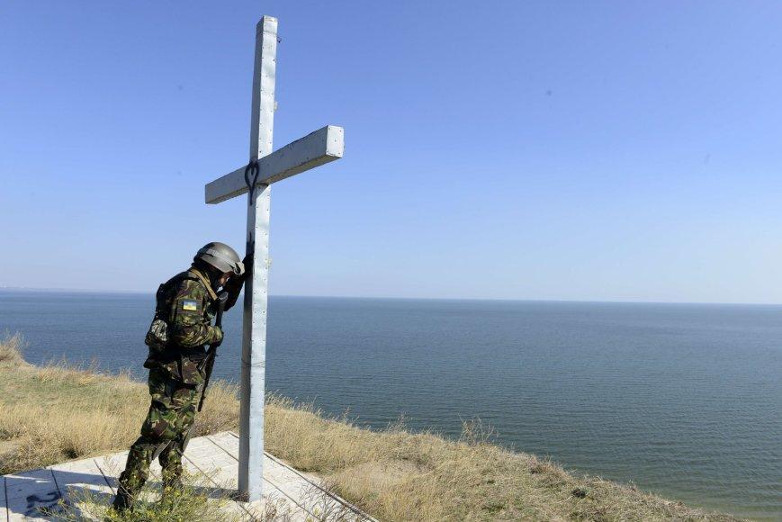 Ukrainos karys Mariupolyje