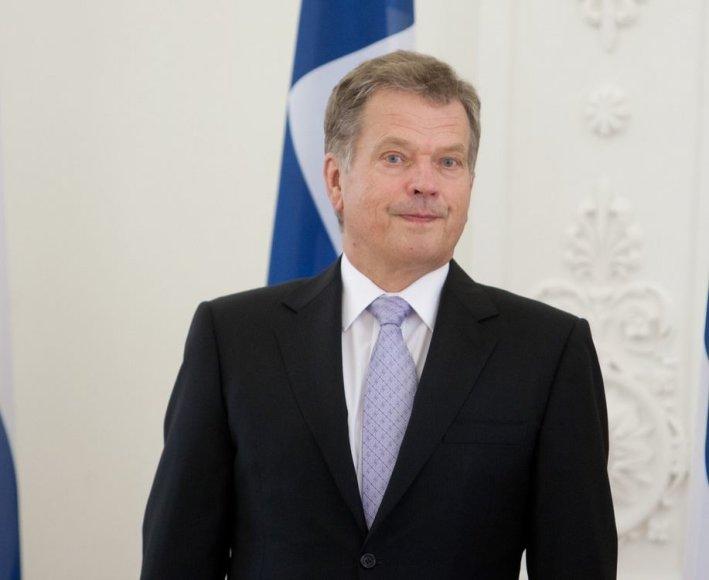 Suomijos prezidentas Sauli Niinisto