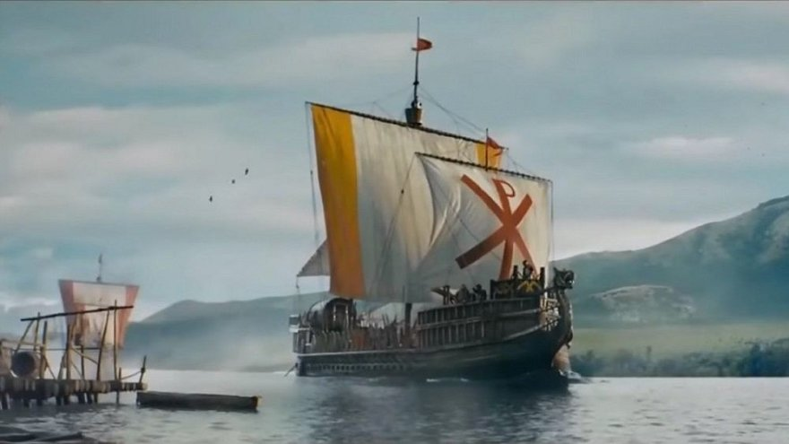 """Kadras iš filmo """"Vikingas"""""""