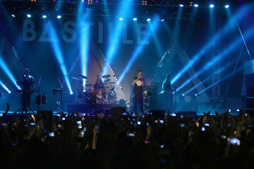 """Grupės """"Bastille"""" koncertas"""