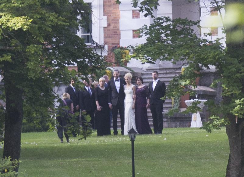 Slaptos Lino Kleizos ir Agnetos Karalevičiūtės vestuvės