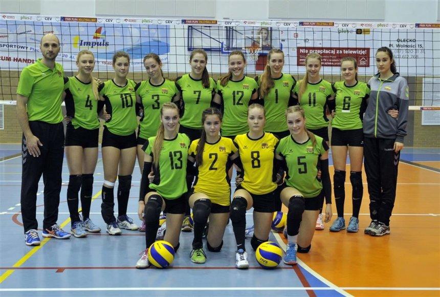 Lietuvos jaunių U-17 merginų tinklinio rinktinė