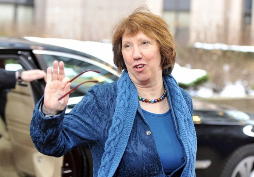 Europos Sąjungos vyriausia įgaliotinė užsienio reikalams ir saugumo politikai Catherine Ashton