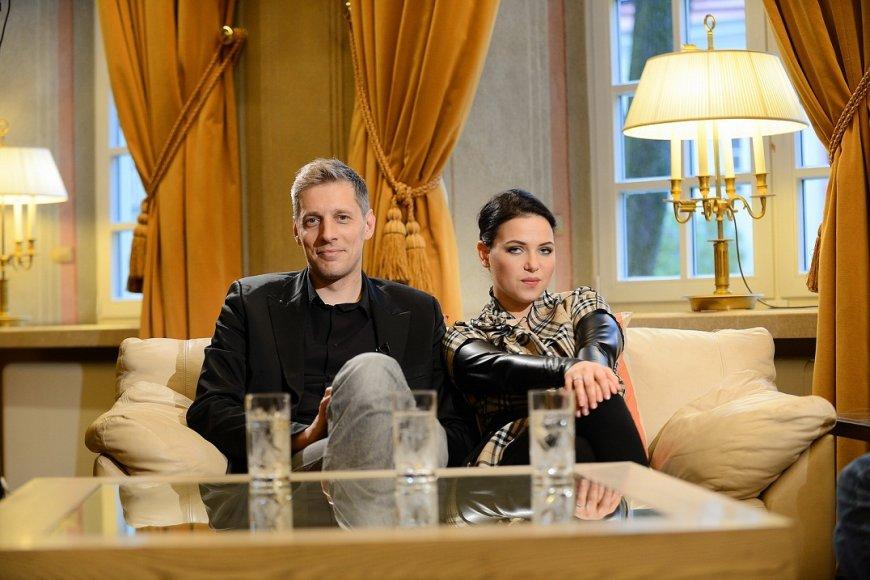 Saulius Prūsaitis ir Justė Arlauskaitė-Jazzu