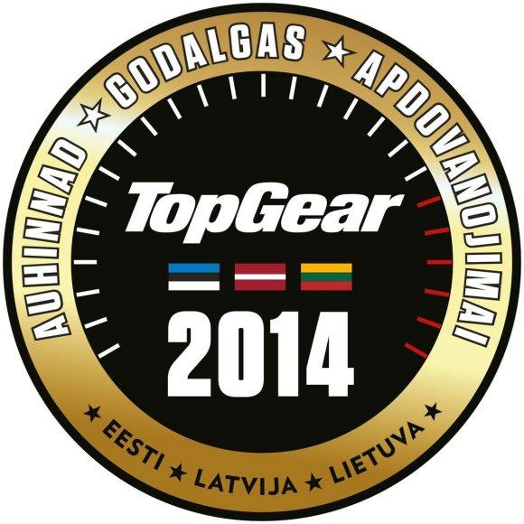 """""""TopGear"""" apdovanojimų logotipas"""