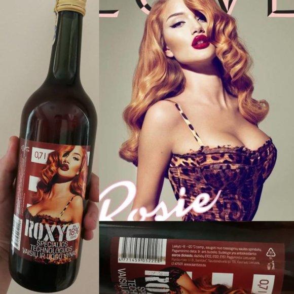 "Lietuviškas vynas ""Roxy"""