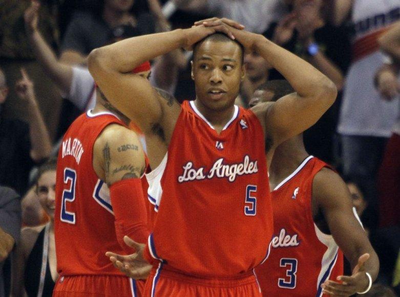 """""""Clippers"""" puolėjas Caronas Butleris"""