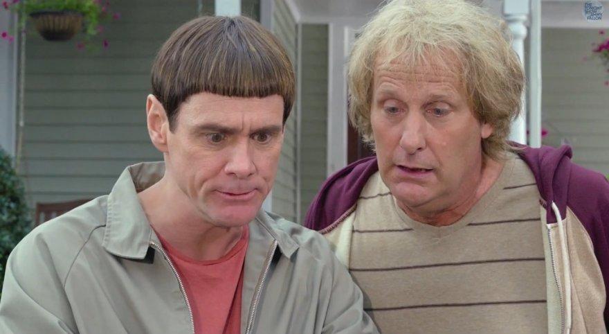 """Jimas Carrey ir Jeffas Danielsas komedijoje """"Bukas ir bukesnis 2"""""""