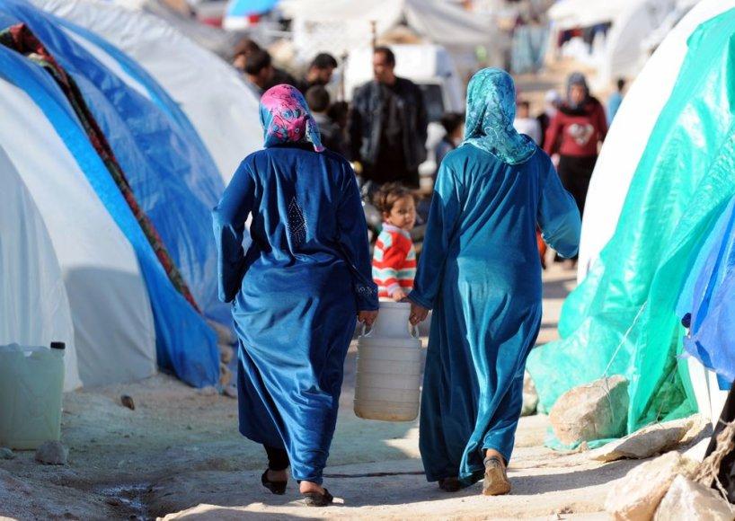 Sirijos pabėgėlių stovykla