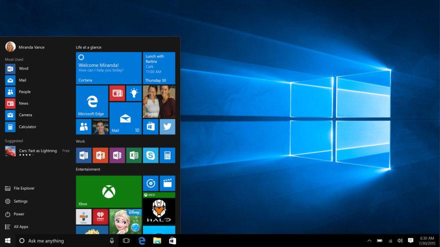 """""""Windows 10"""""""