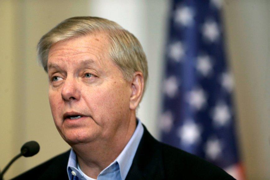 """""""Reuters""""/""""Scanpix"""" nuotr./Lindsey Grahamas"""