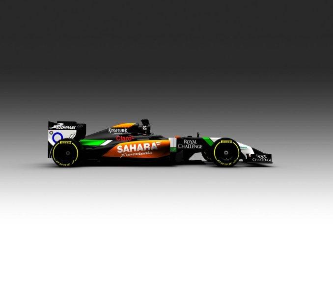"""2014-ųjų """"Force India"""" formulė"""
