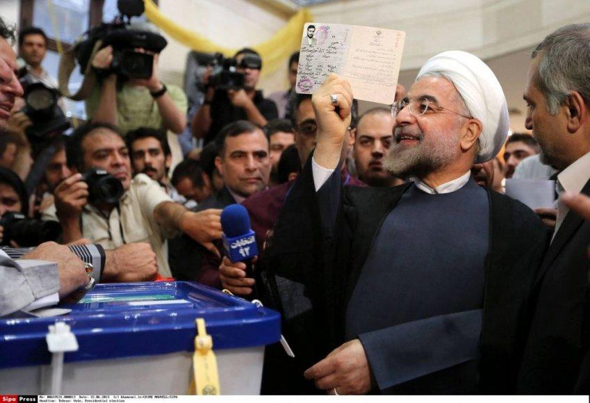 Hassanas Rouhani, kandidatas į Irano prezidentus