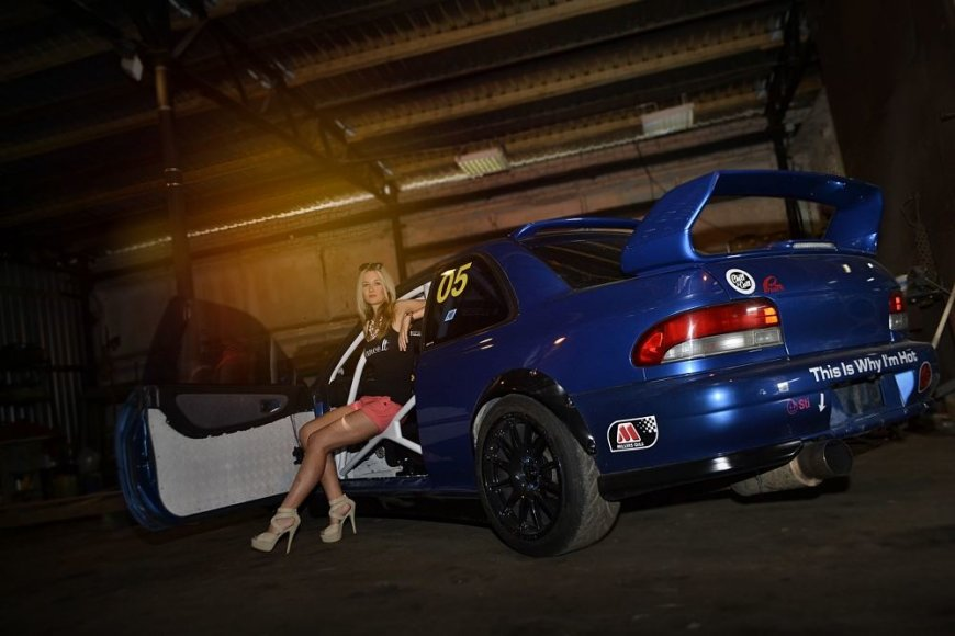"""Gyčio Vaitulionio """"Subaru Impreza WRX STI"""""""