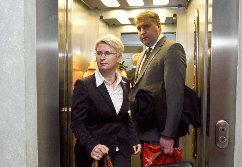 Neringa Venckienė ir Aidas Venckus