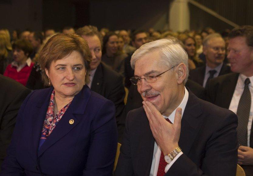 Loreta Graužinienė ir Zigmantas Balčytis
