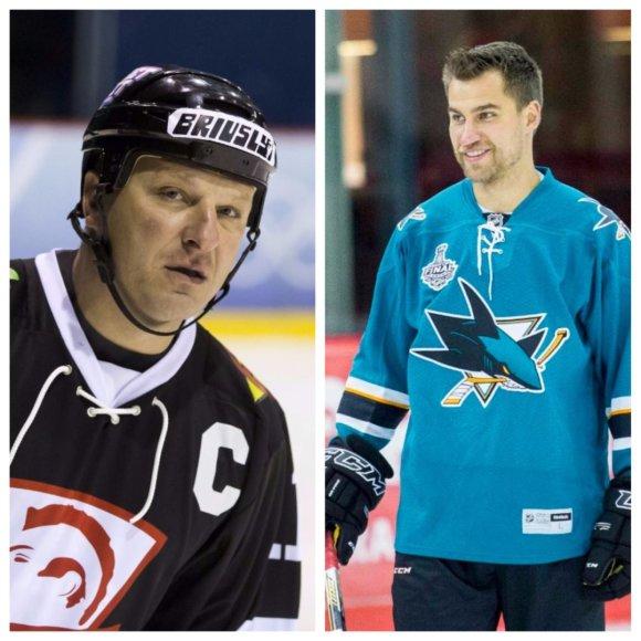 Kitąmet Lietuvos ledo ritulio rinktinėje turėtų žaisti Darius Kasparaitis ir Dainius Zubrus