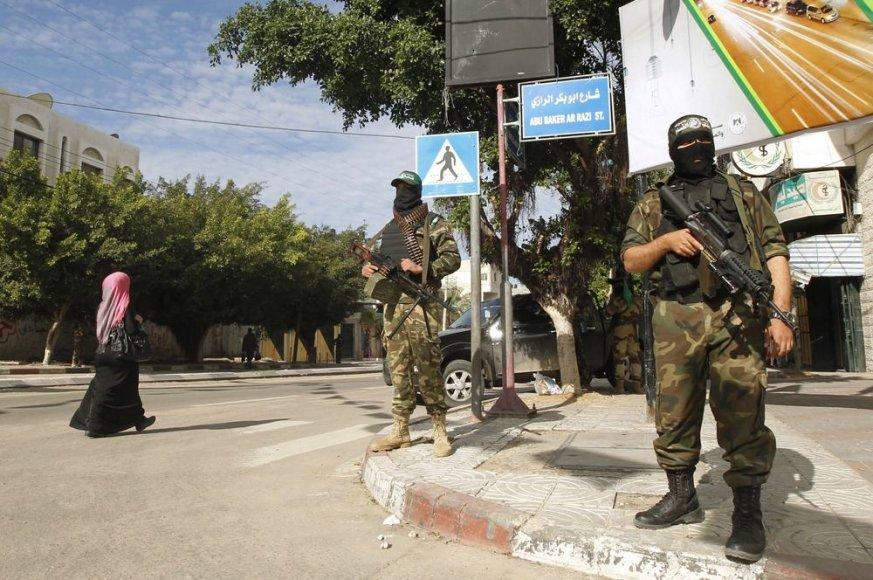 """Palestinos kariai laukia atvykstančio """"Hamas"""" lyderio"""