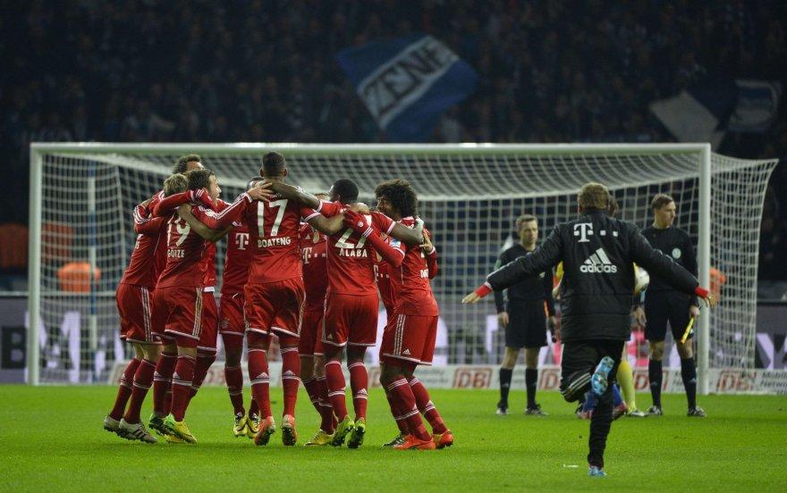"""""""Bayern"""" iškovojo 24-ąjį Vokietijos čempiono titulą"""