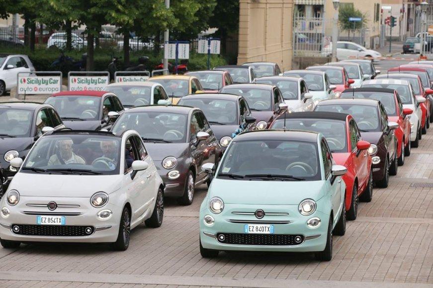 """Atnaujintas """"Fiat 500"""""""