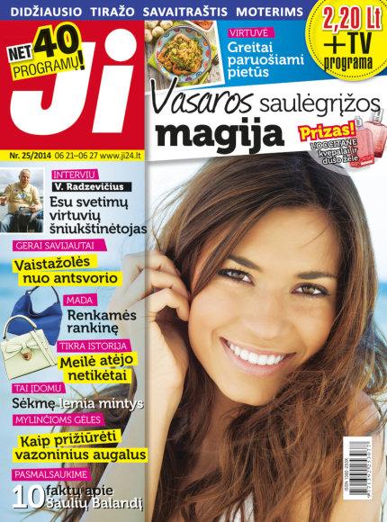 """2014 m. birželio mėnesio žurnalo """"Ji"""" Nr. 25"""