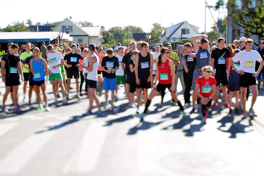Bėgimo varžybos Utenoje