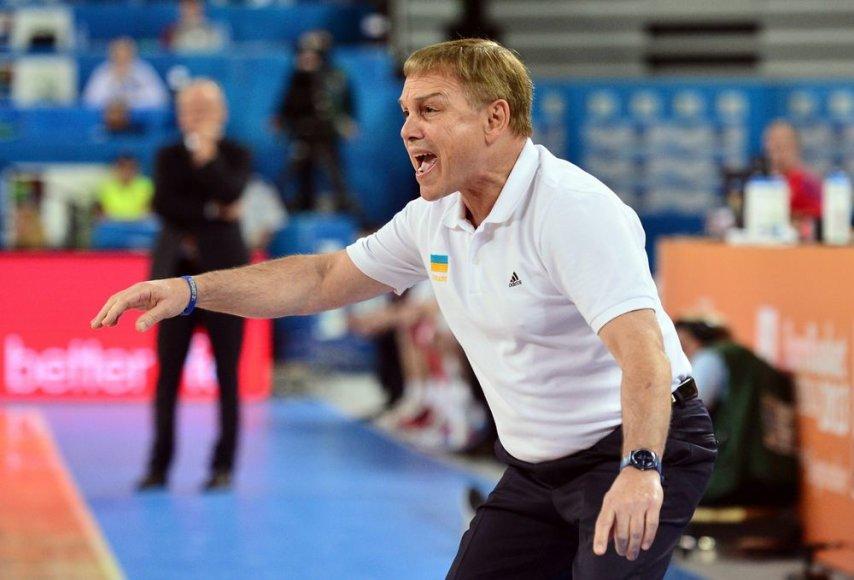 Ukrainos krepšinio rinktinės treneris Mikeas Fratello