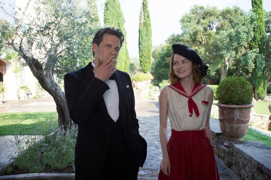 """Emma Stone ir Colinas Firthas filme """"Mėnesienos magija"""""""