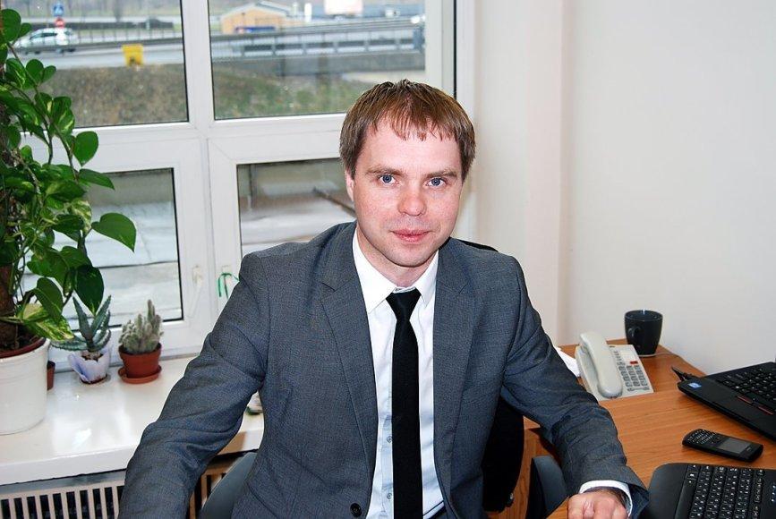 Naujasis MITA vadovas Kęstutis Šetkus