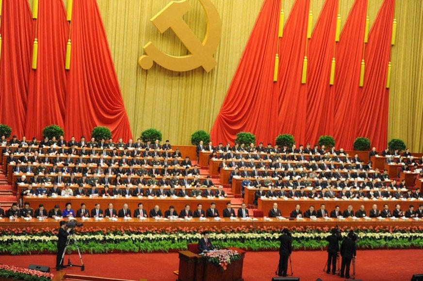 Kinijoje prasidėjo 18-tasis Komunistų partijos kongresas