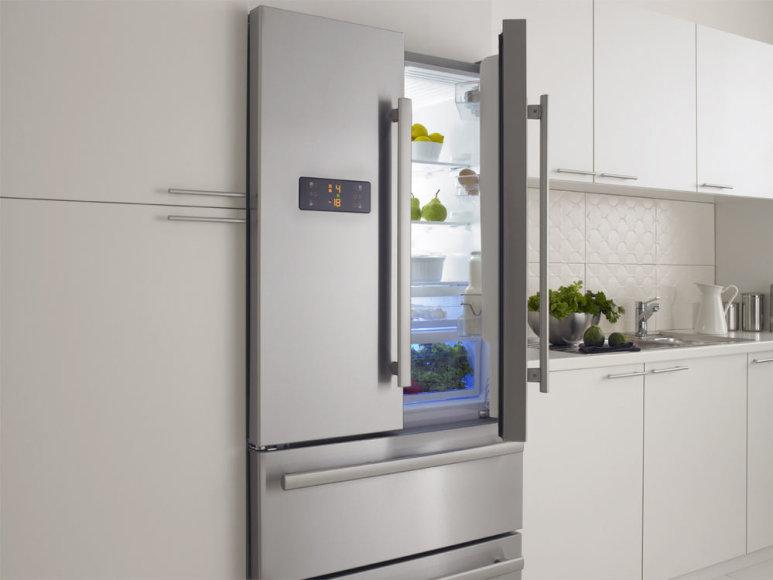Modernus šaldytuvas